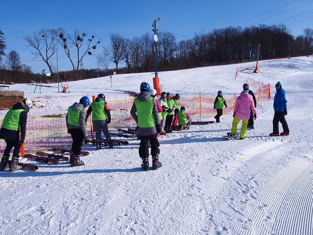 Regenciaki na nartach