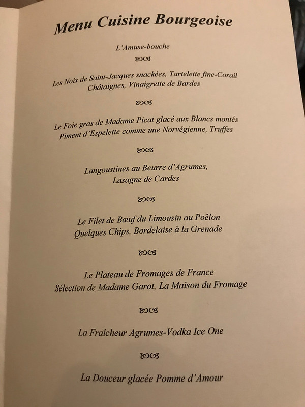 Menu - la chapelle Saint-Martin