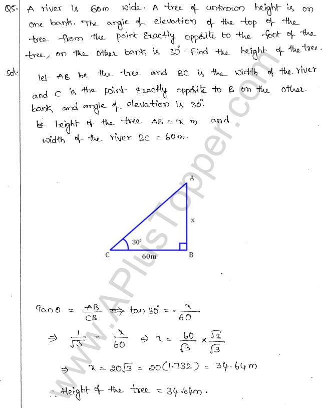 ml-aggarwal-icse-solutions-for-class-10-maths-chapter-21-heights-and-distances-4
