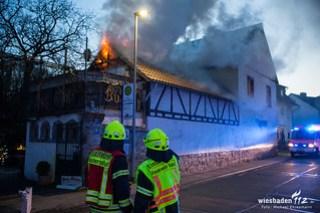 Wohnungsbrand Niederwalluf 24.03.18