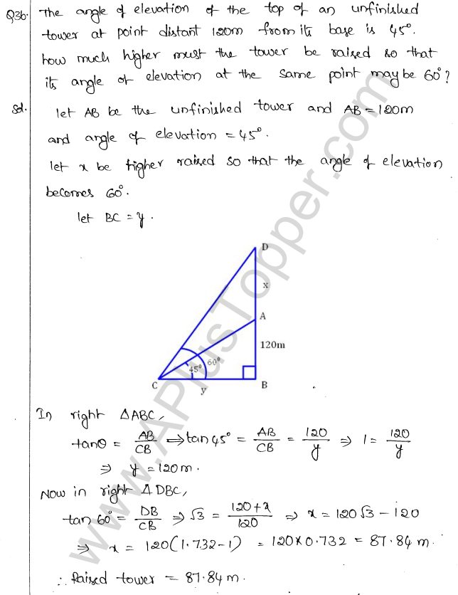 ml-aggarwal-icse-solutions-for-class-10-maths-chapter-21-heights-and-distances-39