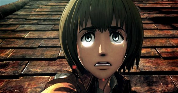 Attack On Titan 2 - Armin Watches Like A Coward