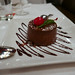 Passion fruit, bavarian cream, dark chocolate mousse, vanilla cake ($8)