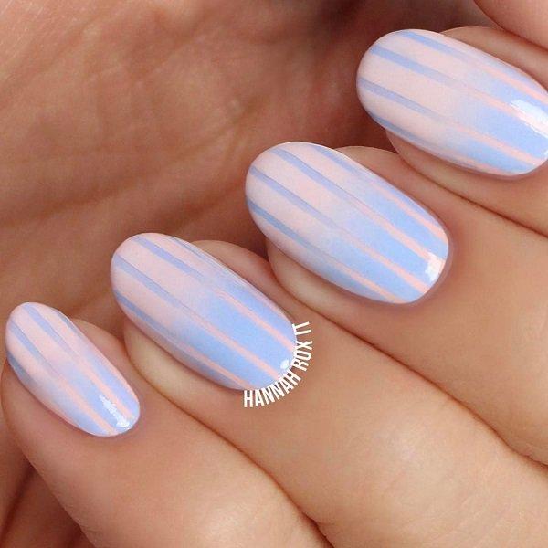 Stripes Nail Art Ideas