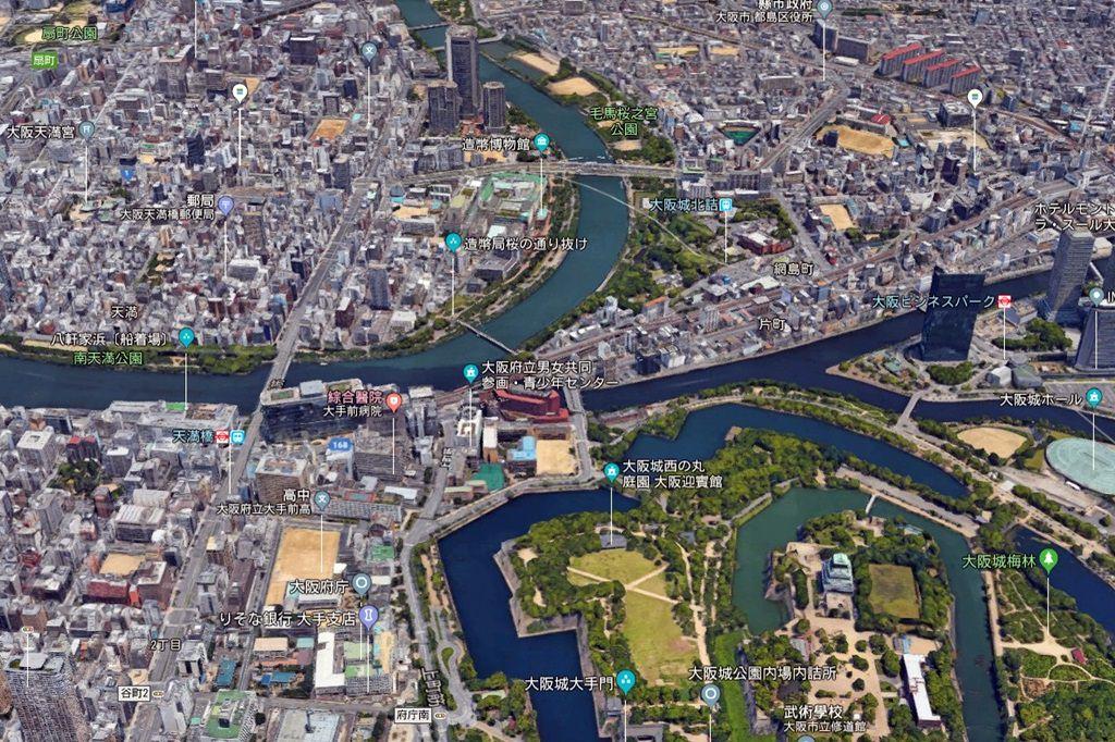 Osaka Mint Bureau Map 2
