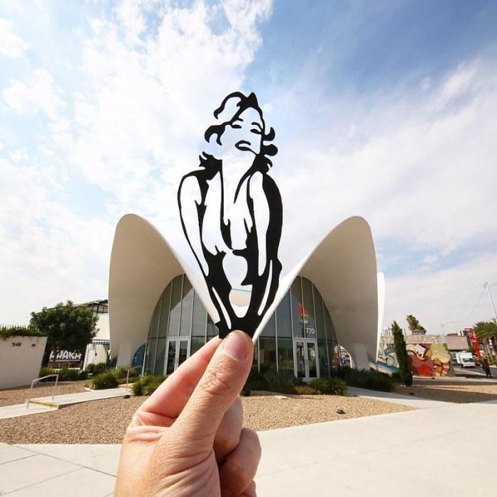 Архитектурные иллюзии в коллажах Paperboyo