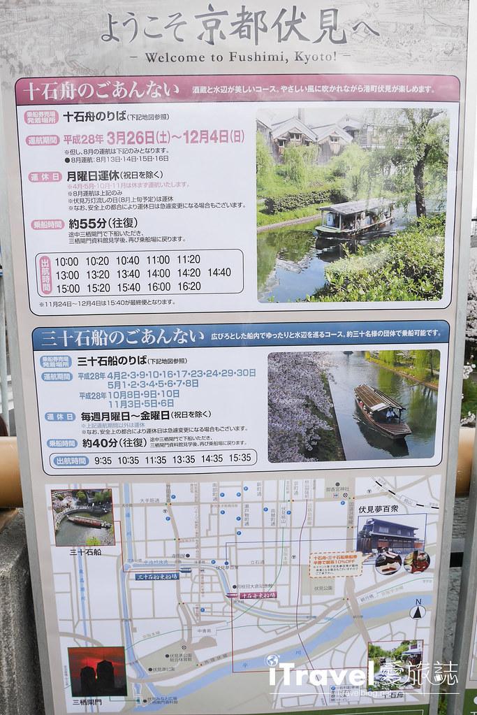 京都赏樱景点 伏见十石舟 (4)
