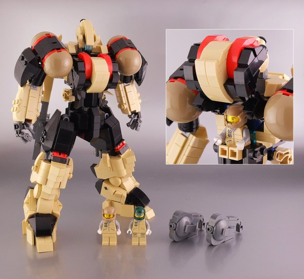 "Lego MSX-03 ""Blastar"""