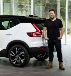 Ian Kettle and the Volvo XC40