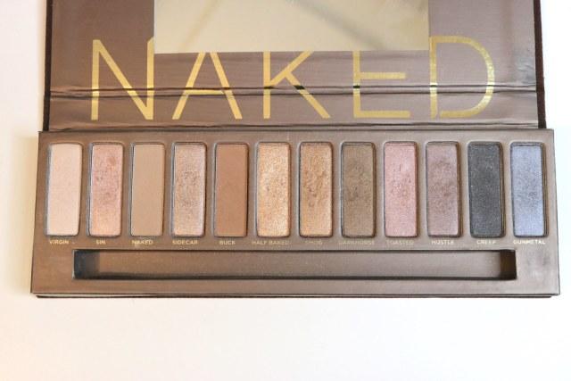 Full Naked palette on day 1