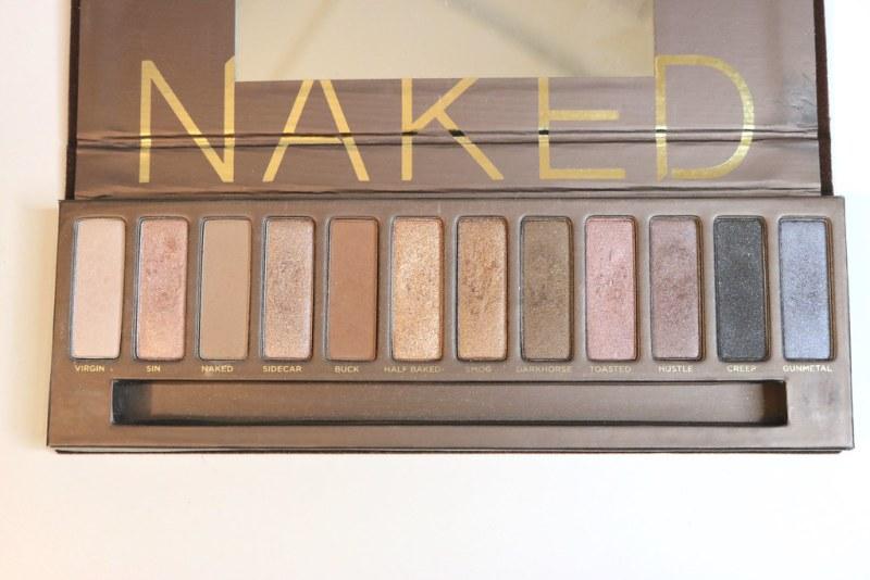 Naked palette pans