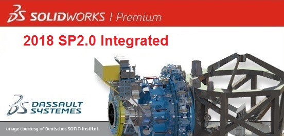 SolidWorks Premium 2018 SP2.0 full license