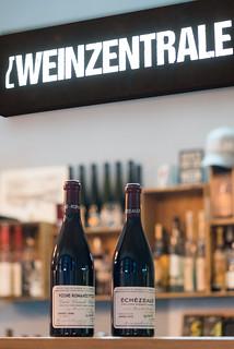 Spitzenweine aus dem Burgund in der Weinzentrale