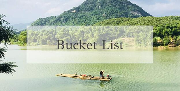 Pu luong bucket list