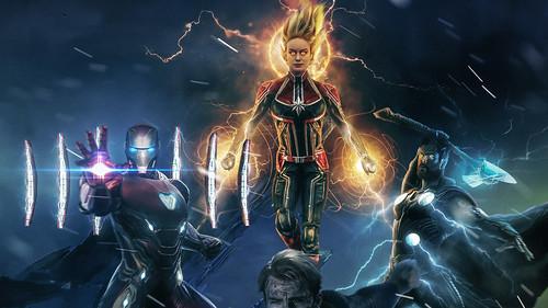 Avengers 4 Endgame Superheroes