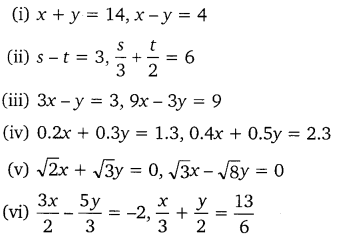 NCERT Solutions for Class 10 Maths Chapter 3 Pair of Linear Equations in Two Variables e3 1