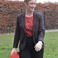 Beauty 'n Fashion: Zebra print blazer