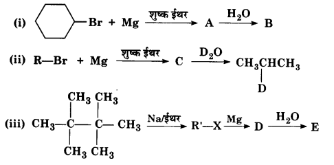 UP Board Solutions for Class 12 Chapter 10 Haloalkanes and Haloarenes Q.9.1