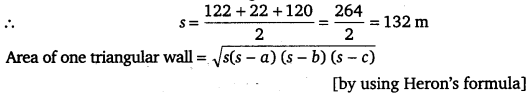 NCERT Solutions for Class 9 Maths Chapter 12 Heron's Formula 2