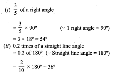Selina Concise Mathematics Class 6 ICSE Solutions - Angles (With their Types) -r3