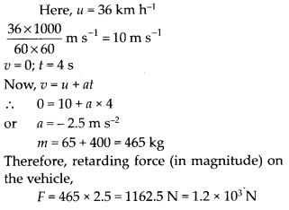 NCERT Solutions for Class 11 Physics Chapter 5 Law of Motion 3