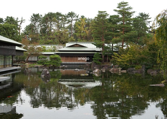 京都迎賓館 池