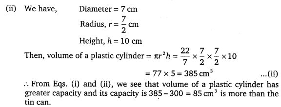 NCERT Solutions for Class 9 Maths Chapter 13 Surface Area and Volumes 33