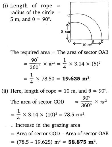 NCERT Solutions for Class 10 Maths Chapter 12 Areas Related to Circles 17