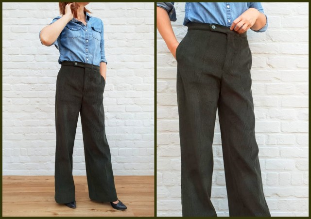 hollywood trousers (collage)