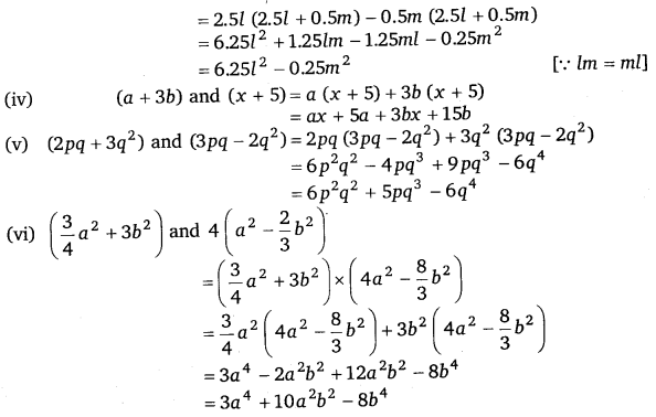 NCERT Solutions for Class 8 Maths Chapter 9 Algebraic Expressions and Identities 17