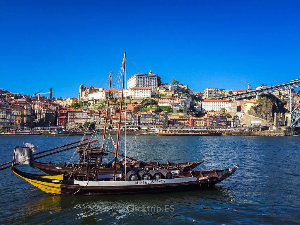 Ruta por Oporto y alrededores   Vistas de la Ribeira desde Vilanova de Gaia   Oporto en 3 días   ClickTrip.ES