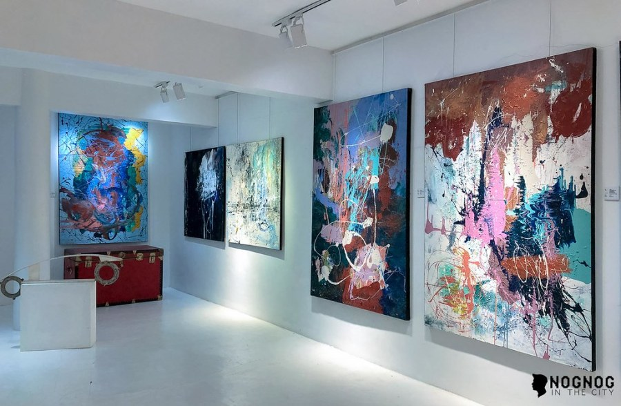 NMI ART GALLERY WITH ABSTRACT ARTIST NADINE IBAY (11 of 20)