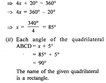 Selina Concise Mathematics Class 6 ICSE Solutions - Quadrilateral-14s.