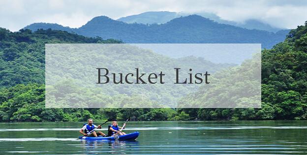 Bucket list lakeshore