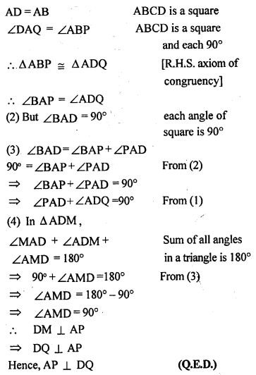 ML Aggarwal Class 9 Solutions for ICSE Maths Chapter 13 Rectilinear Figures  ex 15a
