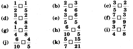 NCERT Solutions for Class 6 Maths Chapter 7 Fractions 55