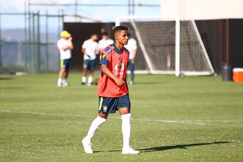 Sub-20 / Seleção Brasileira Sub-20 treina na Cidade do Galo 13.11.2018