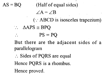 ML Aggarwal Class 9 Solutions for ICSE Maths Chapter 13 Rectilinear Figures  ct 3a