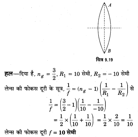 UP Board Solutions for Class 12 Physics Chapter 9 Ray Optics and Optical Instruments SAQ 9