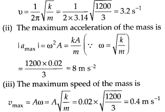 NCERT Solutions for Class 11 Physics Chapter 14 Oscillation 7