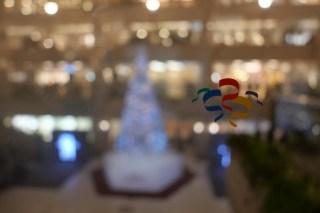 Merry Snow Christmas 横浜ランドマークプラザに雪が降った!