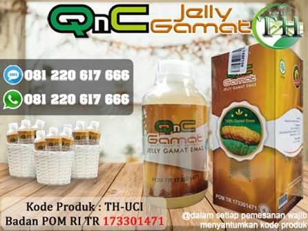 QnC Jelly Gamat Obat Uci Uci