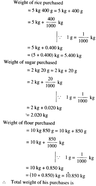 NCERT Solutions for Class 6 Maths Chapter 8 Decimals 47