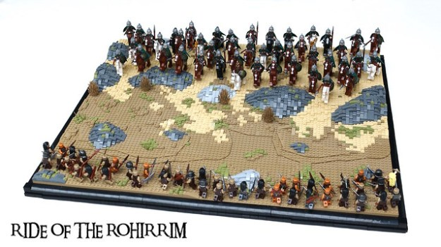 Ride of the Rohirrim MOC