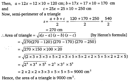 NCERT Solutions for Class 9 Maths Chapter 12 Heron's Formula 7