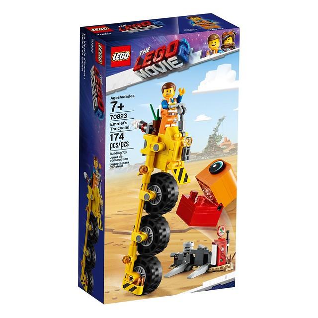 LEGO Movie 2 70823 Emmet's Thricycle 01