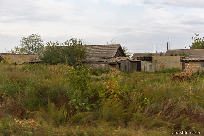 Деревенские дома, Саратовская область
