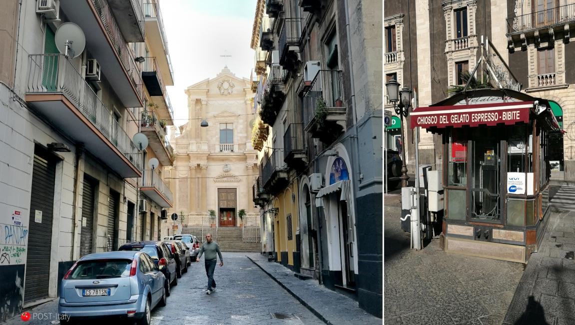 Catânia, Sicília, Itália