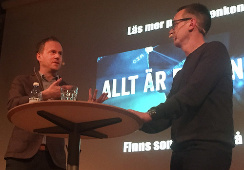 Richard Öhrvall och Kent Werne