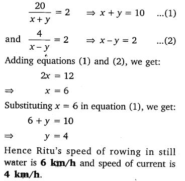 byjus class 10 maths Chapter 3 Pair of Linear Equations in Two Variables e6 2